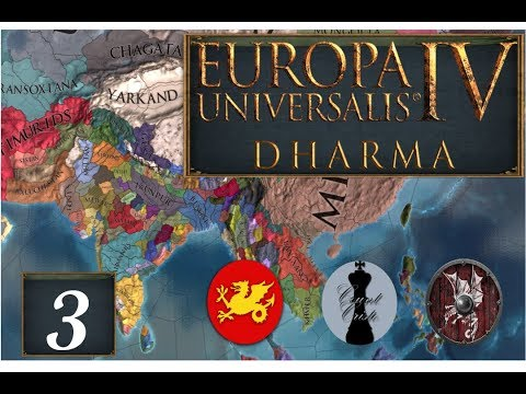 The King, The Wyvern and the Dragon! EU4 Dharma Multiplayer with Addaway & Lambert - Part 3 |
