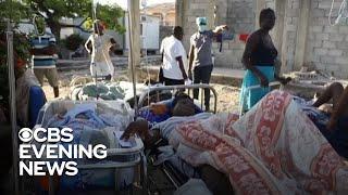 Death toll rises after devastating Haiti earthquake
