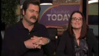 Parks and Recreation - On The Set With Megan Mullally & Nick Offerman