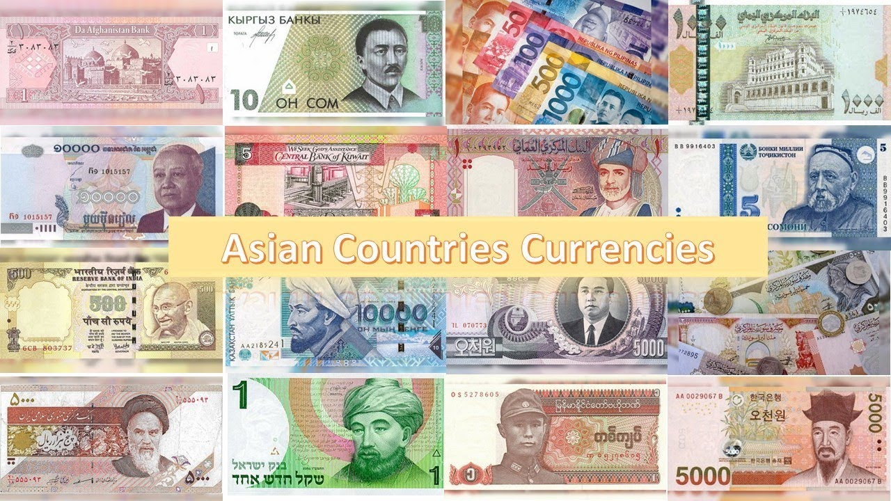 currency Asian countries