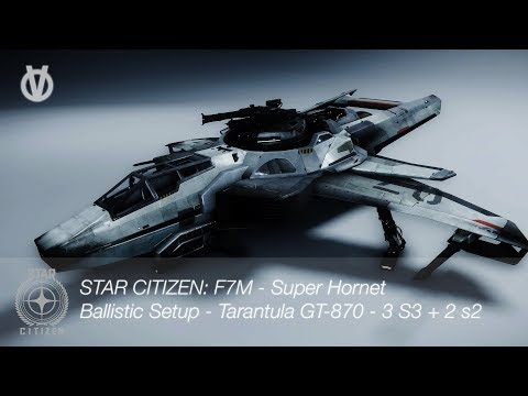 Volle Gaming: Star Citizen 2.6 Pre 3.0 -- F7M Super Hornet -