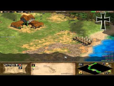 """Age of Empires II: The Conquerors - Atila el Huno Misión 2: """"La gran marcha"""""""