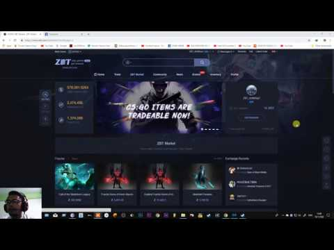 How to buy items in Dota 2 using ZBT points tutorial ! | Legit website!