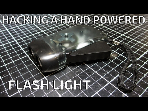 Hacking a Hand Powered Flash Light