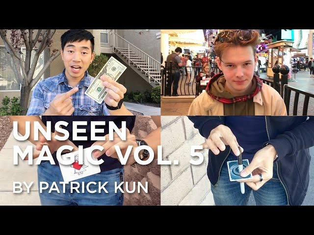 Don't Shuffle Cards and Drive | Unseen Magic Vol. 5