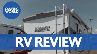 2017 Lance 1995 | Luxury Travel Trailer | Palm Springs - RV Review