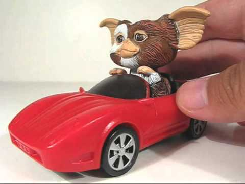 gremlins go gizmo go motorized gizmo in car quick review youtube. Black Bedroom Furniture Sets. Home Design Ideas