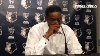 Video: #Twolves coach Sam Mitchell on Andrew Wiggins' big night and overcoming scoring drought in 99