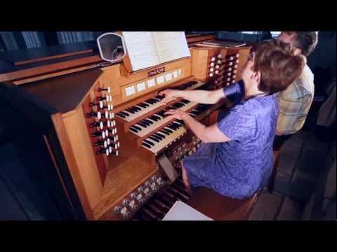 Sarah Soularue in concert at the Limoges cathedral Gonzalez organ
