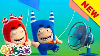 ODDBODS | The Tricky Autumn Wind Blows | Cartoons For Kids
