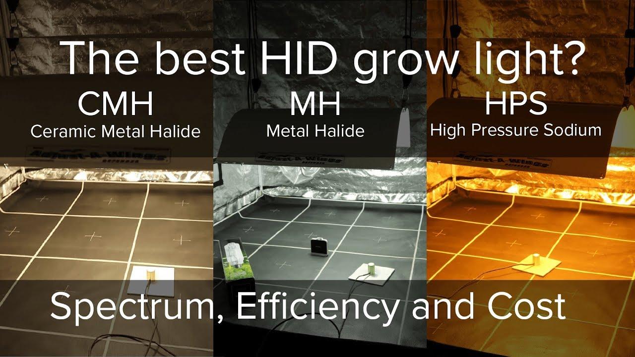 what is the best hid grow light high pressure sodium metal halide