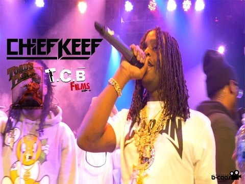 Chief Keef - (LIVE AT TOAD'S PLACE)