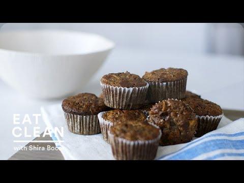 Gluten-Free Banana Apple Walnut Muffins Eat Clean with Shira Bocar
