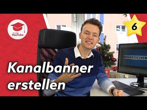 YouTube Kanalbild/Kanalbanner erstellen