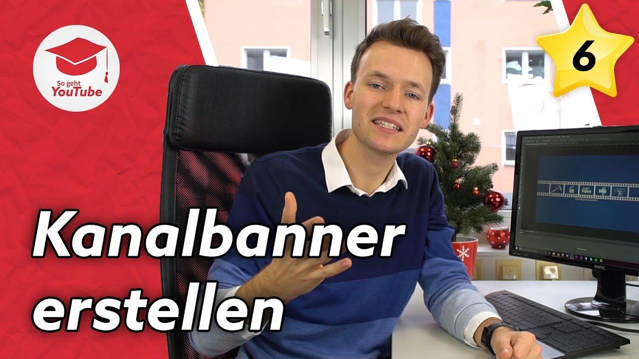 YouTube Kanalbild Kanalbanner Erstellen