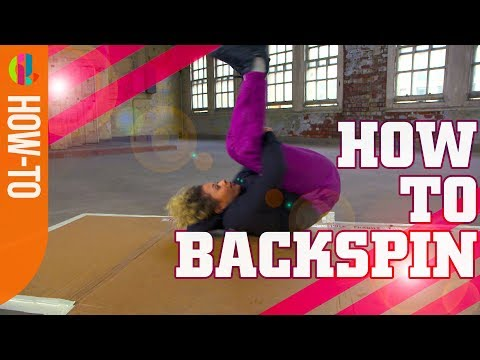 How To Backspin! Breakdance Tutorial