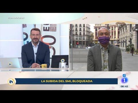 """Entrevista a Pepe Álvarez en el programa """"La hora de La 1"""" de RTVE"""