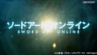 Sword Art Online Trailer Sub esp