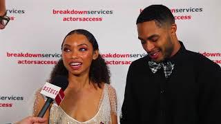 2018 CSA Artios Awards Interview - Logan Browning & Brandon P. Bell