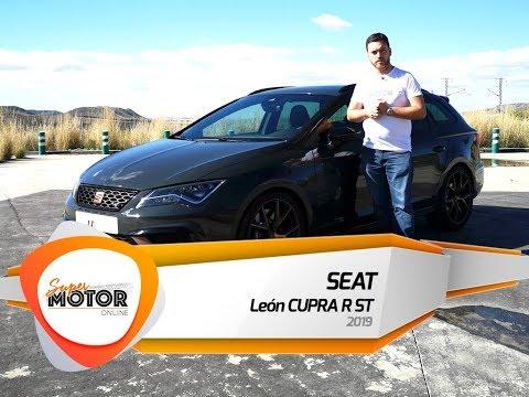 Al volante del SEAT León CUPRA R ST 2019 / Review / Supermotoronline.com