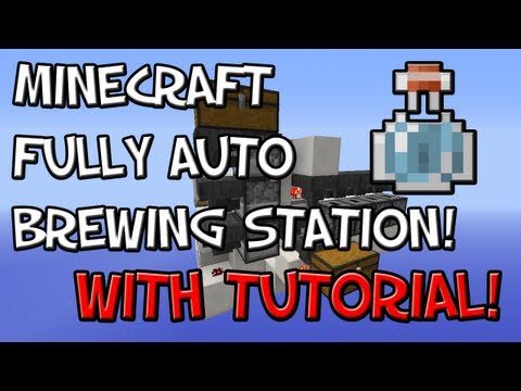 how to make a minecraft auto brewer