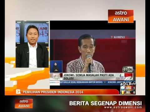 Kehangatan Pemilihan Presiden Indonesia 2014