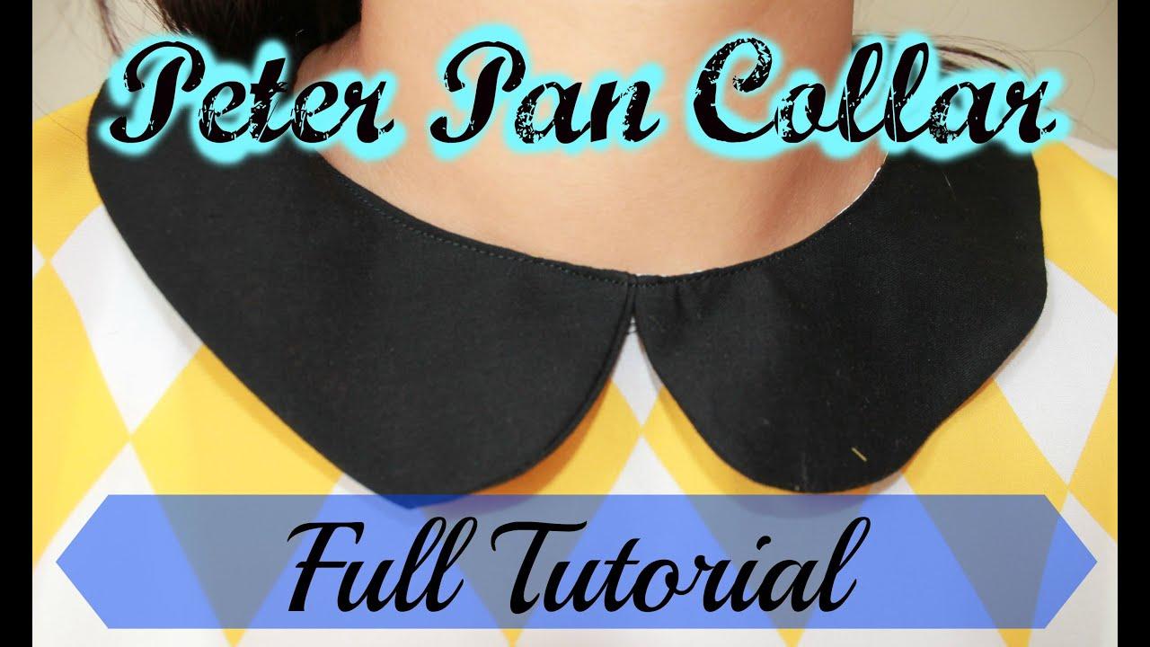 Peter Pan Collar Full Tutorial