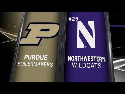 Purdue at Northwestern - Football Highlights