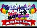 Birthday Journey November 28 New