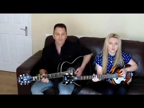 Me Singing 'Long Time Gone' By The Everly Brothers (With My Dad!)