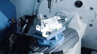 The ALL-NEW DVF 5000 5-AXIS Vertical Machining Center