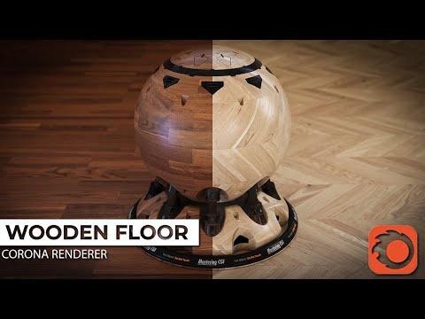 3ds Max Corona Material Tutorial  How To Make A Realistic Wooden Floor Material With Corona Renderer