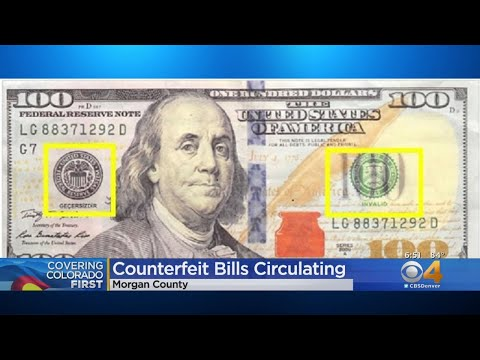 BEARDO - Counterfeit Bills Are Going Around Morgan County