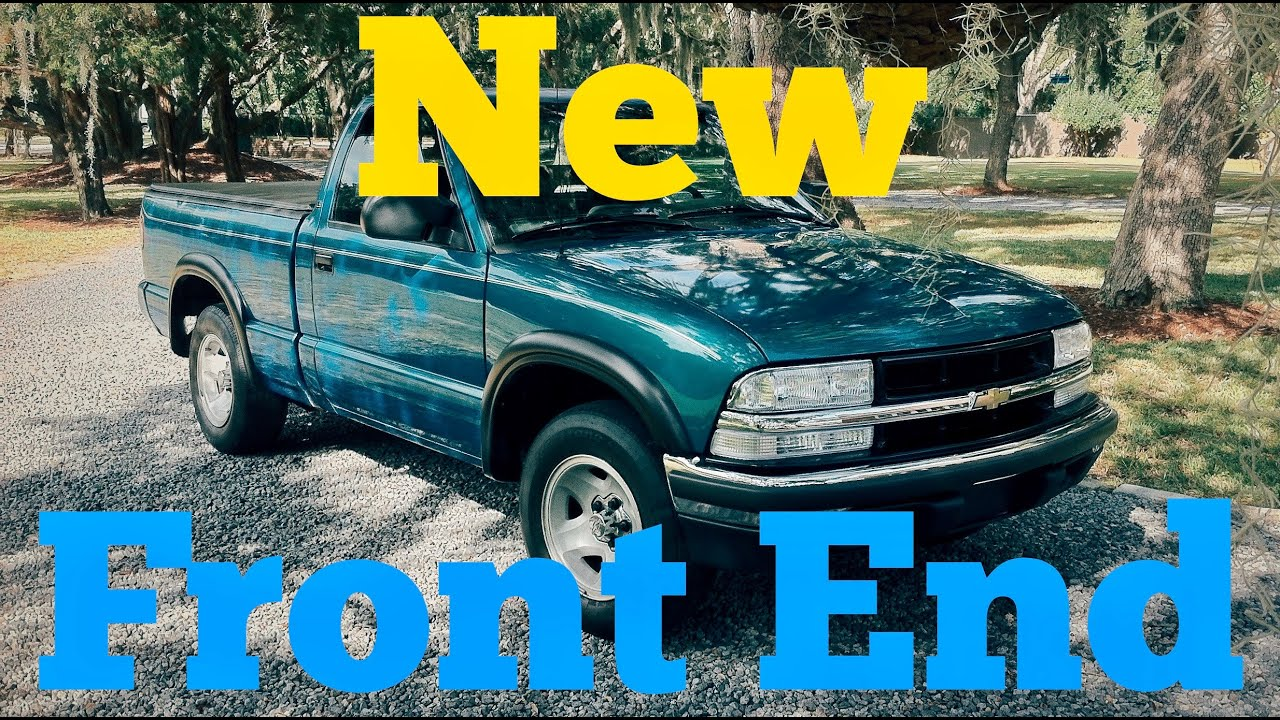 Blazer 94 chevy s10 blazer : Chevy S10 Front End Conversion 94-97 to 98-04 (It's Easy) - YouTube