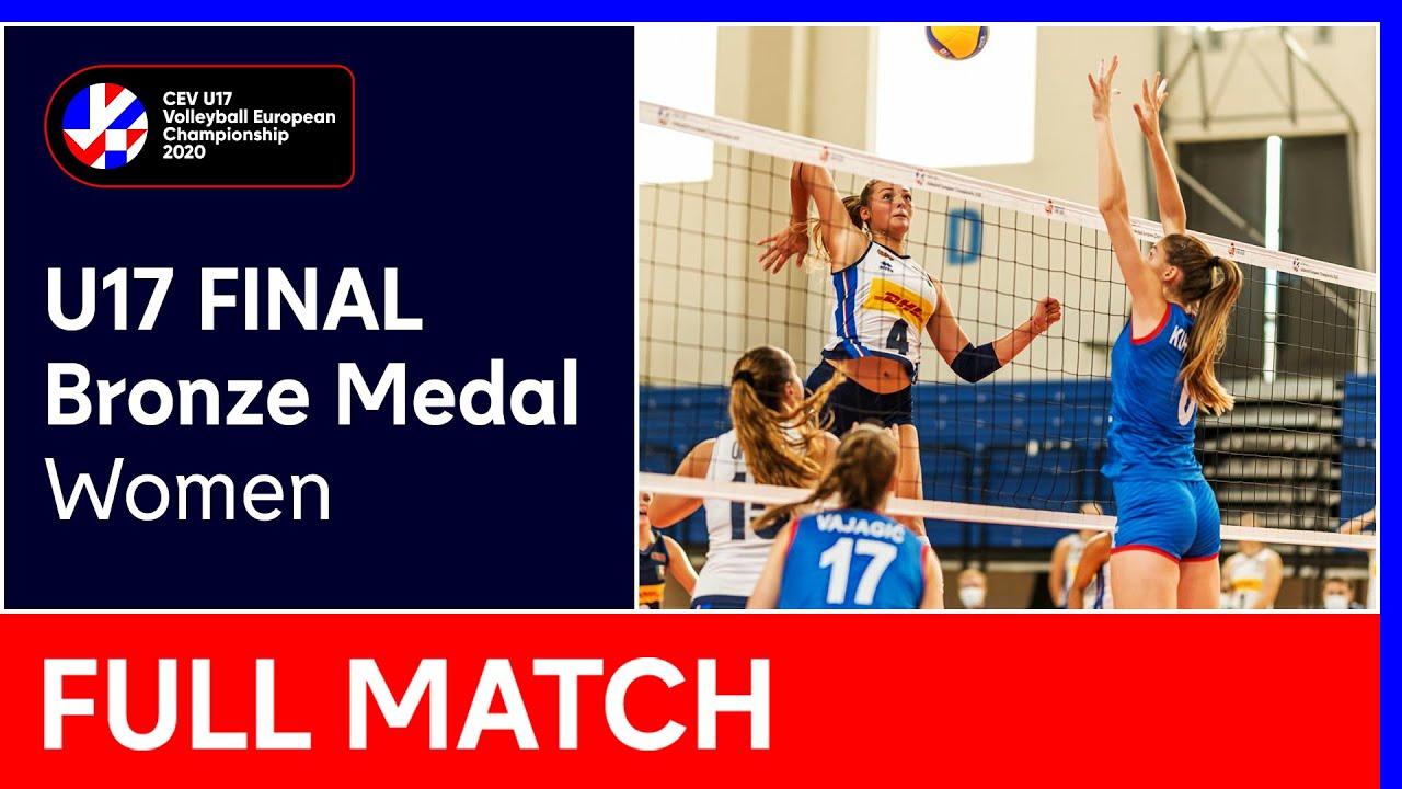 Bronze Medal Final: Serbia vs. Italy – #EuroVolleyU17W