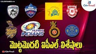 IPL 2008: The First IPL 2008 Match Complete Fixtures |BCCI Announces Schedule| IPL 2020|Color Frames