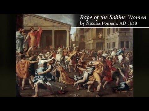 Roman Speed Dating   The Sabine Women #ClassicalClickbait