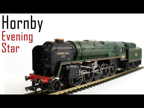 Unboxing the Hornby Railroad Evening Star