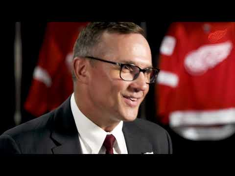 Steve Yzerman   Detroit Red Wings Executive VP and General Manager