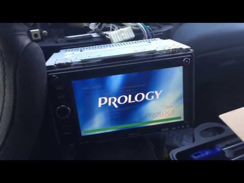 Замена штатной магнитолы в Toyota RAV4 второго поколения на Prology mdn 2640t