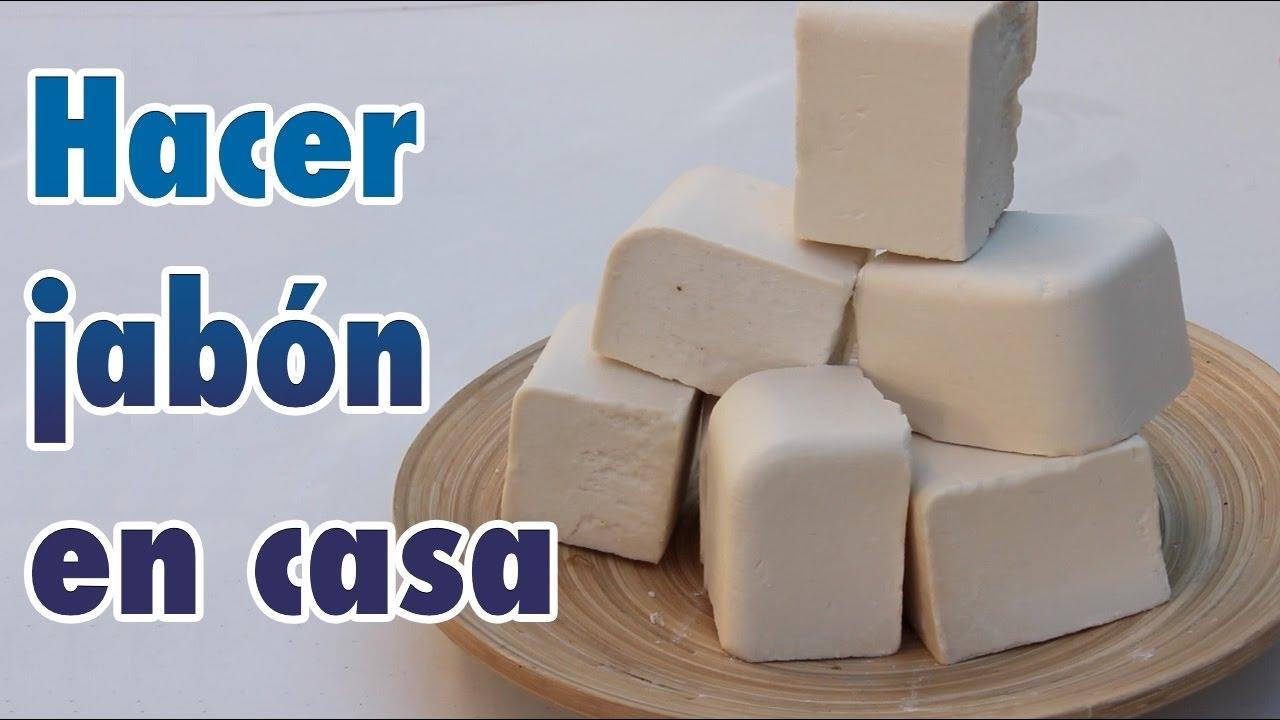 En usado frio aceite casero jabon