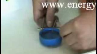 видео: Вращение электролита вокруг магнита