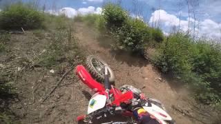 Trilha de Moto   Cajamar 15 01 2015 com vo da trilha