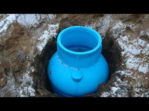 Кессон для скважины Rodlex. Монтаж и обустройство скважин в пластиковом кессоне.
