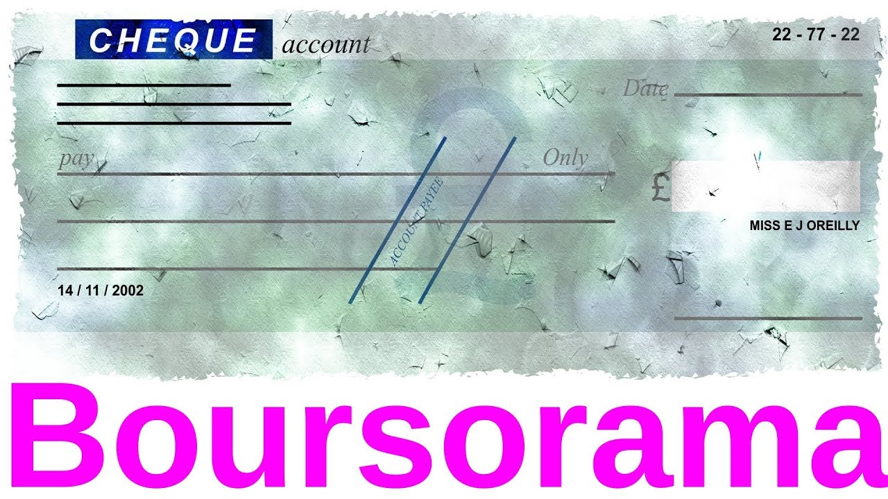 Boursorama Comment Deposer Un Cheque Tuto Youtube
