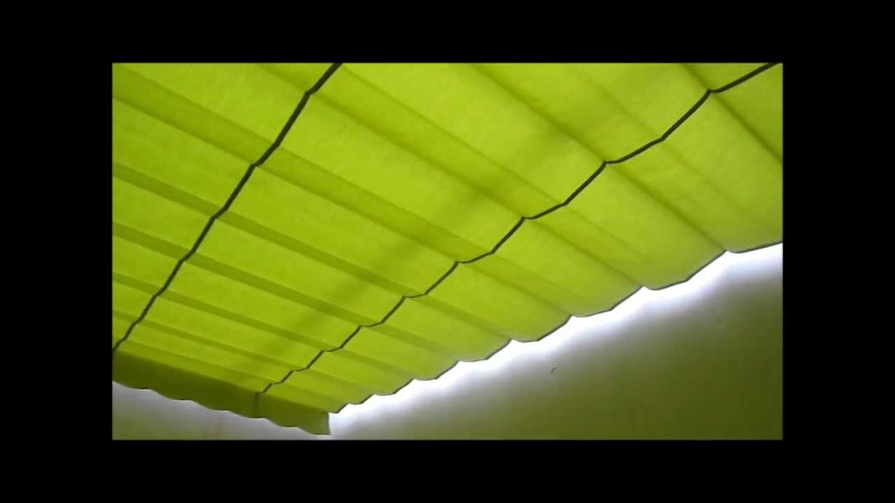 Toldo patio guas entre paredes  YouTube