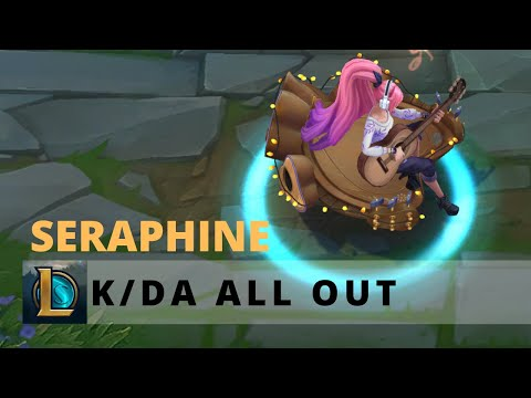 KDA All Out Seraphine Indie Form - League Of Legends