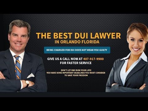 How To Find Good DUI Lawyer Orlando 407-917-9900 Criminal Offense Attorney