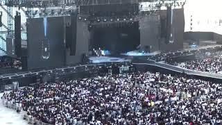 Bts jin singing epiphany in Osaka, Japan