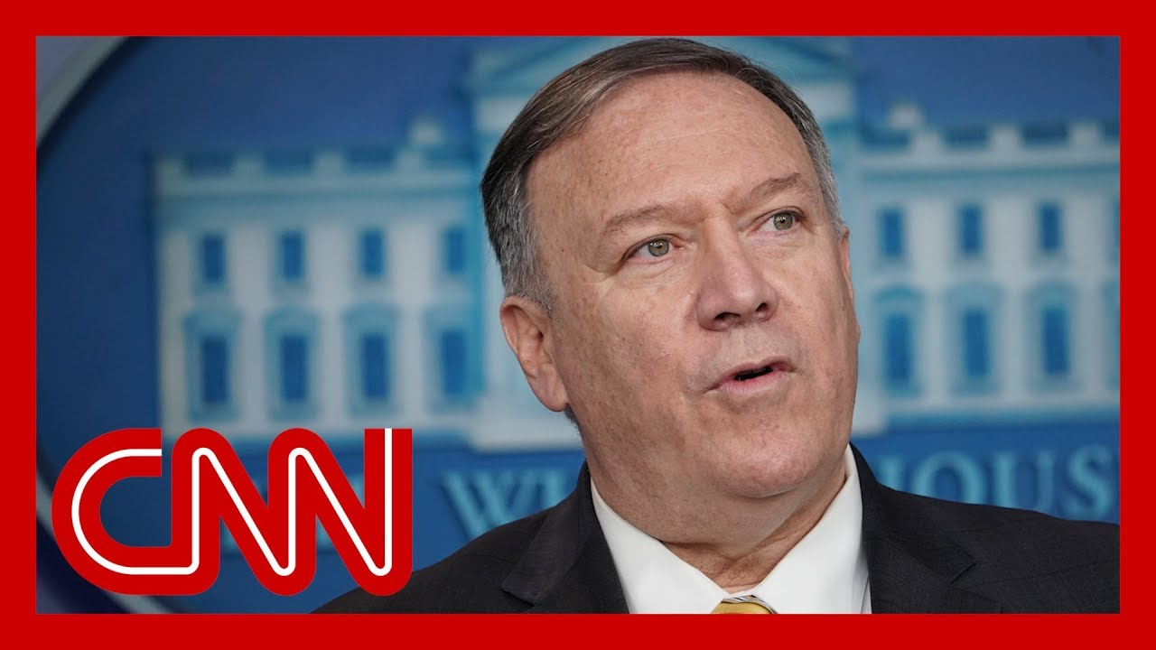 Pompeo was on Trump's call with Ukrainian President, source says